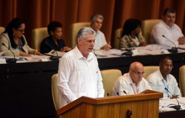 Díaz-Canel: No habrá diálogo con EE.UU. mientras mantengan la