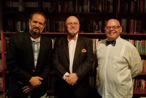 Dionys Díaz, Angel Luis Fernández y Adán Benedetti