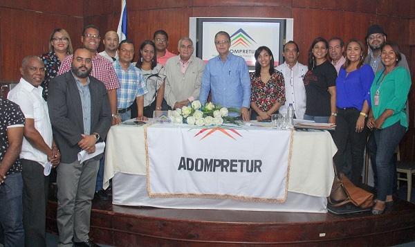 Asamblea de Adompretur valida nuevos estatutos, aprueba reglamento de filiales