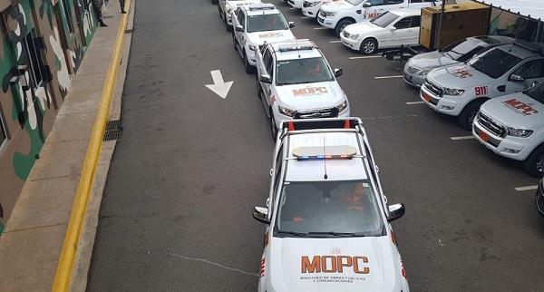 Obras Públicas despliega sus unidades de auxilio por fin de semana largo