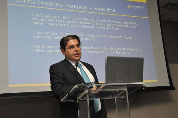 Participación del doctor Ali Bydon