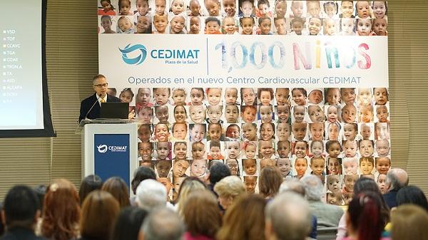 Más de 3,400 niños recuperan su salud en el país tras cirugías cardiovasculares
