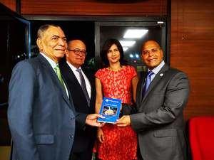 Doctores José Silié Ruíz, Diogenes Santos Viloria, Evelyn Lora,