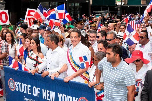 Dominicanos de Nueva York celebran su tradicional desfile de forma virtual