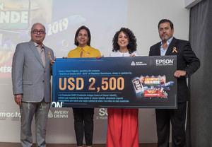 Donacin Agustin Chacn, Alexandra Matos, Anceli Peguero y Abelicio Quintero.