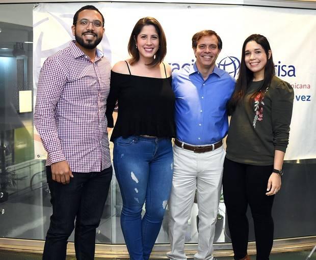Domingo Abreu,  Claudia  Ramirez, Giancarlo Brache,  e Ycel Rodriguez.