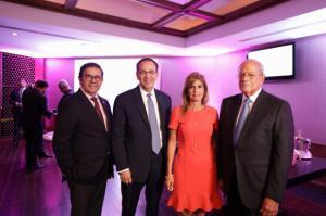 Dr. Felix Manuel Escaño, Dr. Arnaldo Espaillat, Jacqueline Gónzalez, Dr. Octavio Gónzalez Nivar.