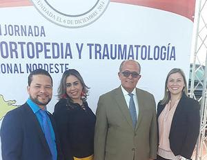 Miltón Paulino, Indira Brens, José Silié Ruiz y María Vento.