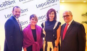 Martin Rodríguez, Judith Suarez, Evelyn Lora y José Silié Ruiz.