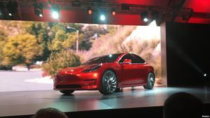 Empleados de Tesla podrán arrendar el Modelo 3.
