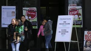 Condado de Nueva York declara emergencia por brote de sarampión
