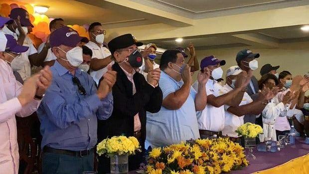 Danilo Medina se integra a la campaña.
