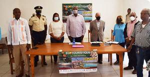 Reunión con autoridades haitianas.