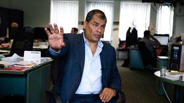 Ecuador declara fallida la toma de versión a Correa en Bruselas por inasistencia