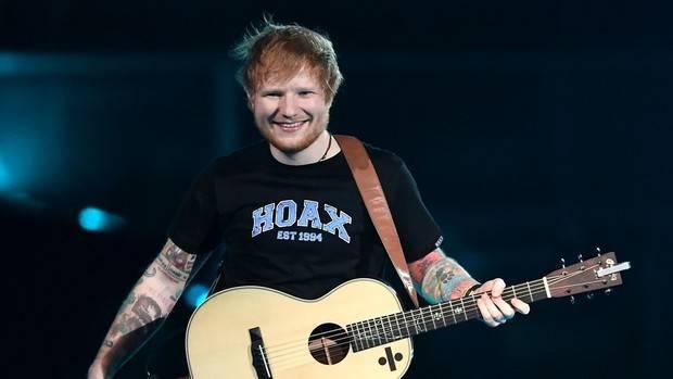 Divide de Ed Sheeran bate récords, 19 semanas en el número uno