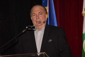 El cierre de evento contó con la presencia del ministro de Cultura, arquitecto Eduardo Selman.