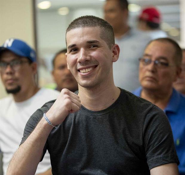 Joven opositor liberado expondrá a CIDH la situación carcelaria en Nicaragua
