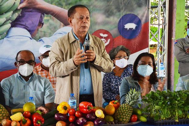 Efraín Toribio, resaltó que ese programa se está llevando a cabo por instrucciones del presidente Luis Abinader.