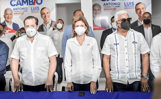 Raquel Peña y José Paliza se reúnen con dirección del PRM Oficial en Santo Domingo Este