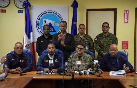 El Centro de Operaciones de Emergencias (COE) ordenó este miércoles evacuaciones de carácter preventivo en zonas vulnerables por el potencial ciclón tropical nueve de la temporada de huracanes.