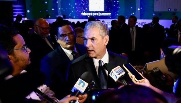 Candidato presidencial del Partido de la Liberación Dominicana, PLD, Gonzalo Castillo.