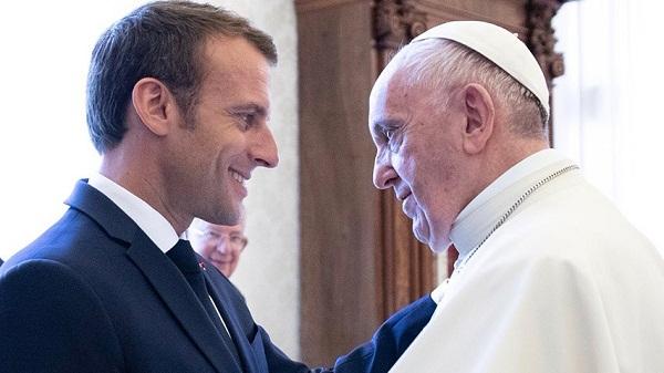El Papa y Macron hablaron de inmigración, conflictos y el proyecto europeo