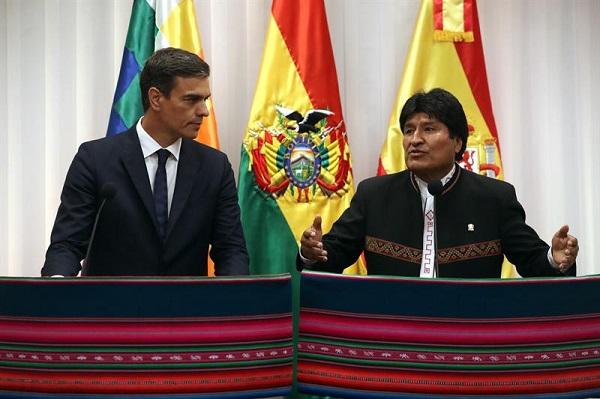 Sánchez y Morales firman tres acuerdos que refuerzan la alianza bilateral