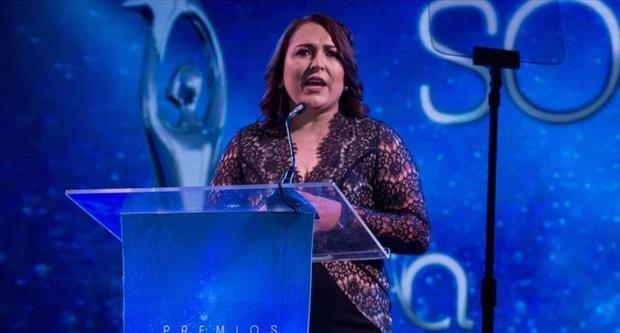 Expresidenta de la Asociación de Cronistas de Arte, Acroarte, Emelyn Baldera sugirió que los Premios Soberano 2020 se otorguen de manera virtual.