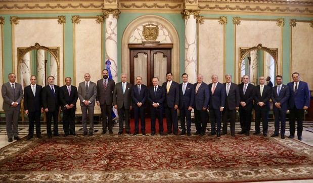 Empresarios valoraron el impacto de las políticas públicas implementadas por el Gobierno en visita al Presidente Medina