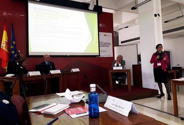 Encuentro sobre Cohesión Social y Gobernabilidad en Santa Cruz de La Sierra, Bolivia