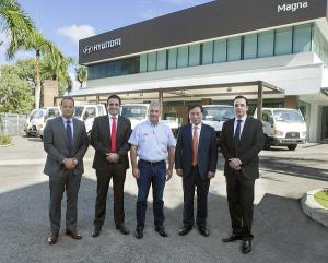 Entrega Camiones Ministerio Obras Publicas