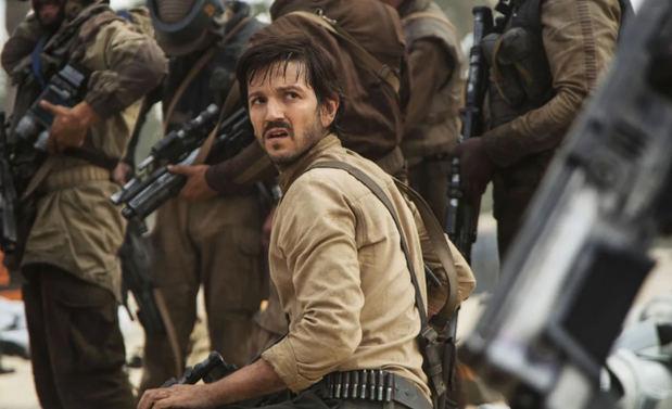 Diego Luna en su papel en Rogue One: una historia de Star Wars.