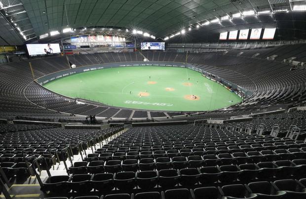 El Béisbol profesional de Japón no comenzará en mayo, y no hay una fecha clara para realizar los juegos en medio de la pandemia de coronavirus.