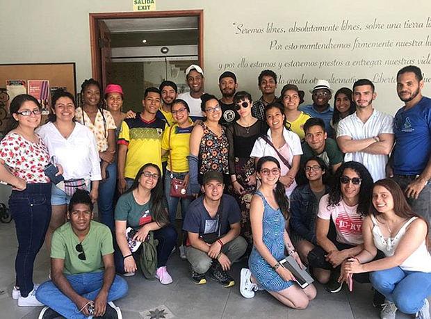 Museo de la Resistencia se convierte en referente para estudiantes de universidades norteamericanas
