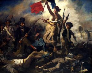La Libertad guiando al pueblo (La Liberté guidant le peuple) es un cuadro pintado por Eugène Delacroix en 1830 y conservado en el Museo del Louvre de París y uno de los más famosos de la historia.
