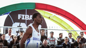 Fuhit Evens Edouard Cadit, de la selección de baloncesto 3×3.