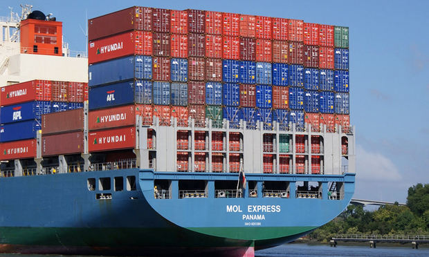 Las exportaciones superaron en marzo los 1,100 millones de dólares.