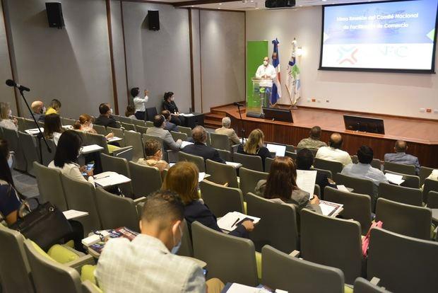Décima reunión del CNFC, en el auditorio de la DGA.