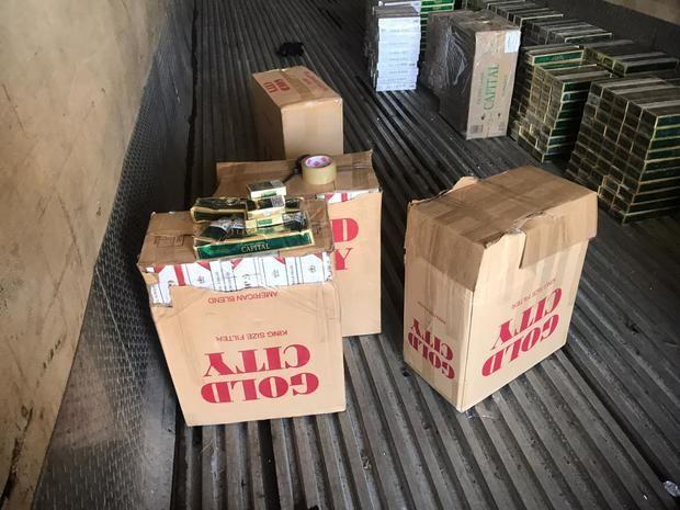 Descubren otro millonario contrabando de cigarrillos en almacén