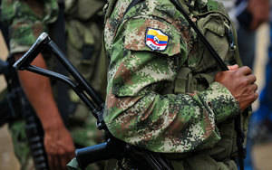 Militares colombianos.