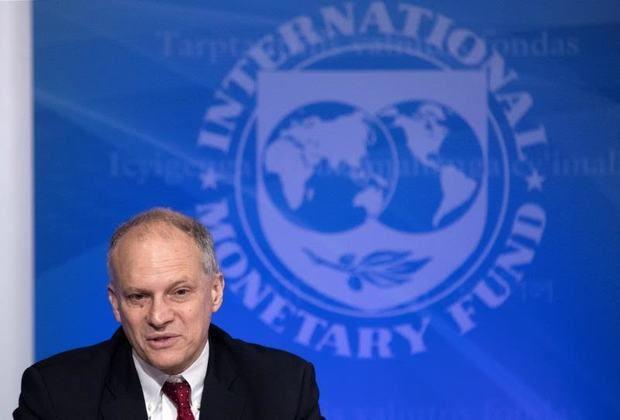 Alejandro Werner, director del Fondo Monetario Internacional (FMI) para América Latina, ofrece una rueda de prensa en Washington.