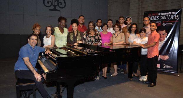 Fundación Sinfonía, Embajada de EE.UU. y Cultura auspiciaron Segundo Taller de Canto