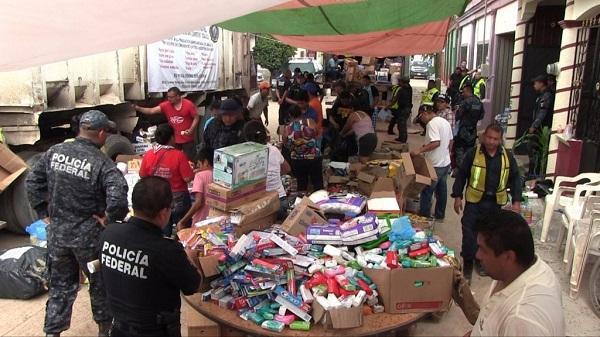Misión de la UE supervisa en el sur de México ayuda a damnificados de sismos