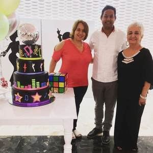 Solangel Velazquez, Wilfredo Peña y Margarita Mendoza.