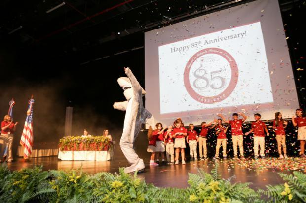 Colegio Carol Morgan festeja 85 años de fundación