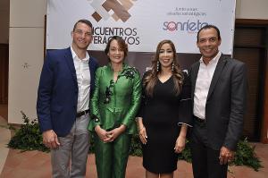 Brian Rashid, Lady Reyes, Grisbel Medina y César Cordero.