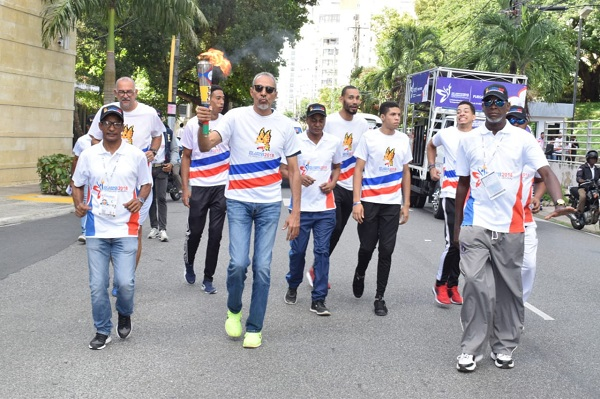 Antorcha de los Juegos Deportivos Nacionales 2018 inicia recorrido desde el COD
