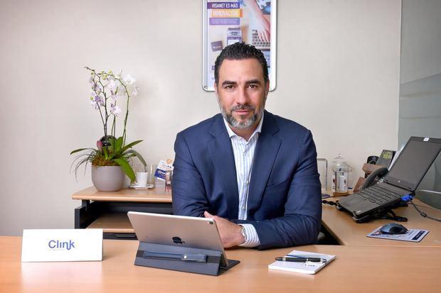 Fabio Báez vicepresidente ejecutivo de  Visanet Dominicana.