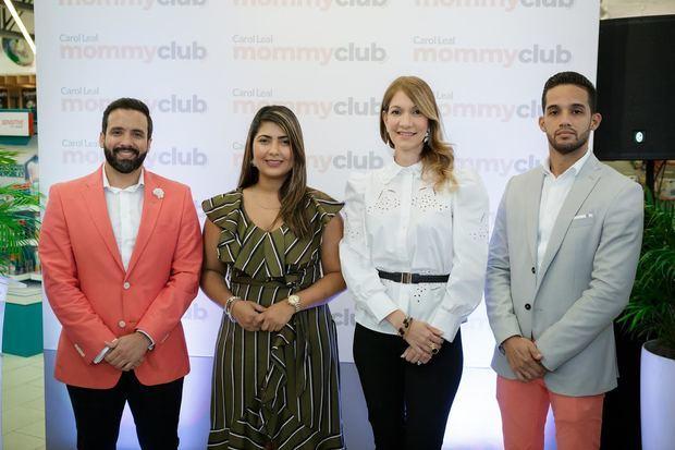 Julio Rafael Curiel, Nathaly Reyes, María Teresa Ferreiro y Emmanuel Rufino.