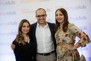Miriam López, Gregory de la Cruz y Joan Patricia Landolfi.